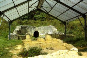 GR5 door Noord-Frankrijk: Romeinse pijpleiding in de buurt van Gorze