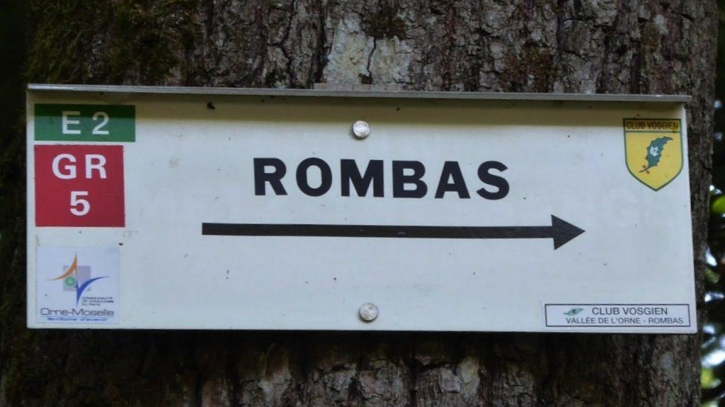 GR5 door Noord-Frankrijk: naar Rombas