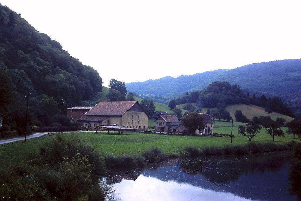 GR5 door de Jura