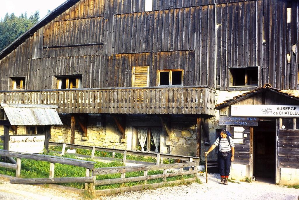 GR5 door de Jura: Ferme-Auberge in Vieux Chateleu
