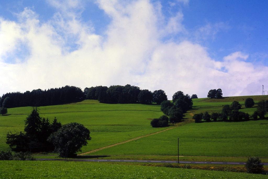 GR5 door de Jura: nabij Malbuisson
