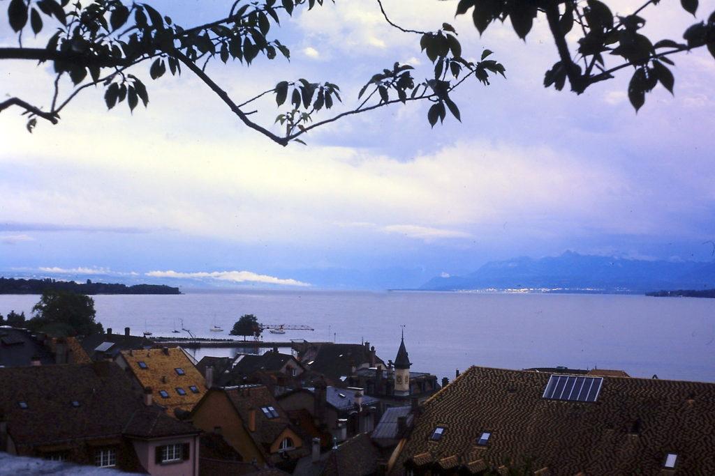 GR5 door de Jura: eindpunt aan het meer van Genève