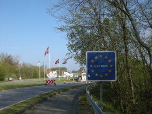 Begin van de E1 door Duitsland