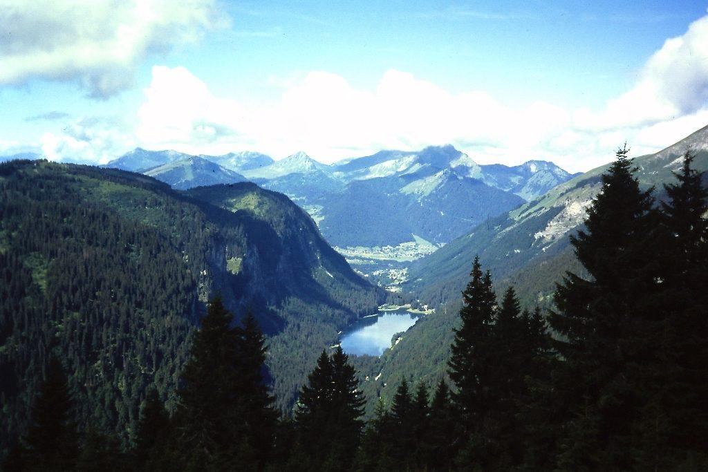 GR5-Uitzicht vanaf de Col de Bassachaux