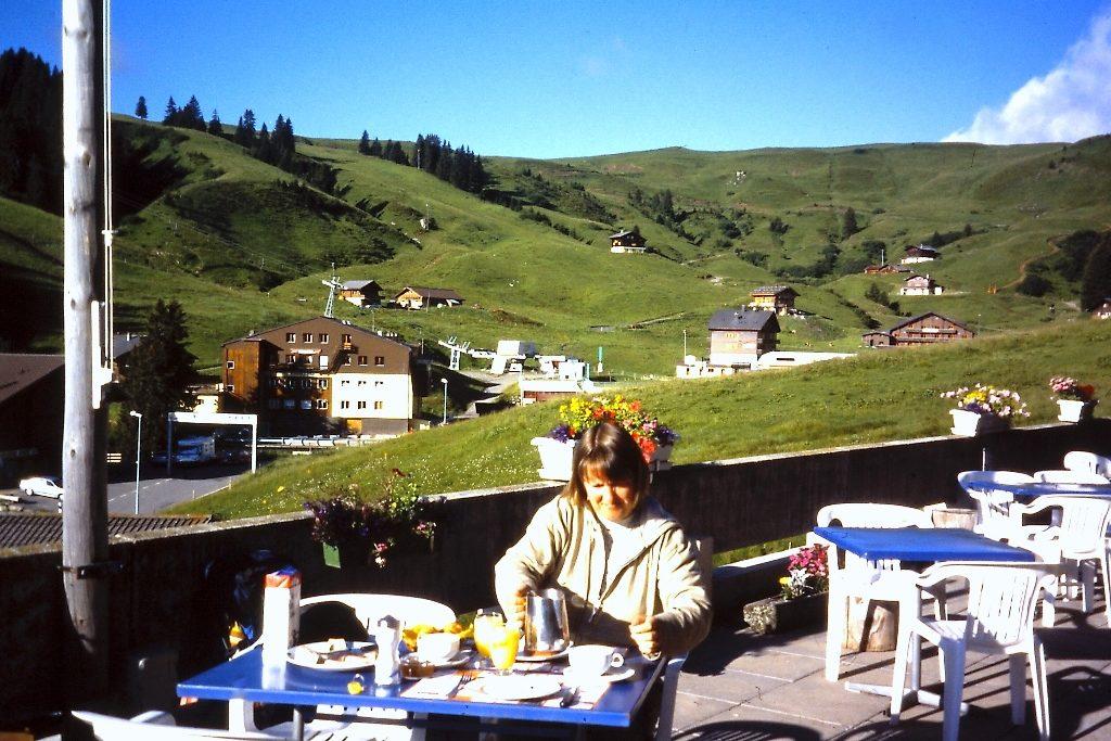 GR5-Ontbijt in Les Crosets